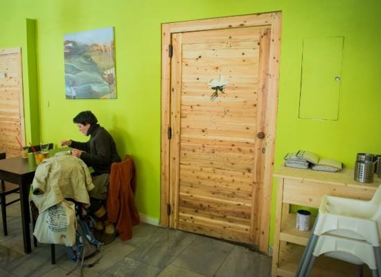 Dveře Restaurace Mlska