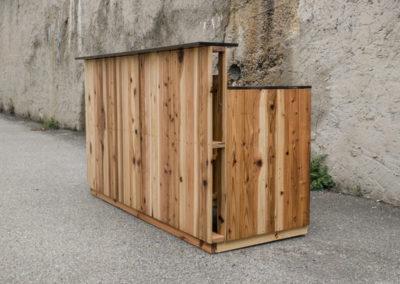 Paletky | recyklovaný nábytek z palet | Bar Klasik 1 | nábytek na míru