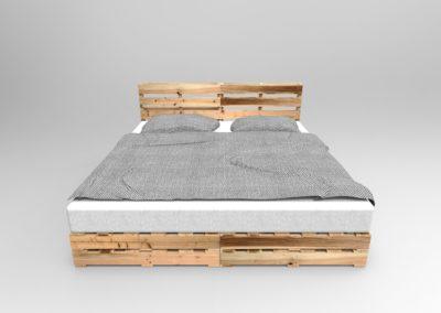 Vizualizace postele NERU nová varianta