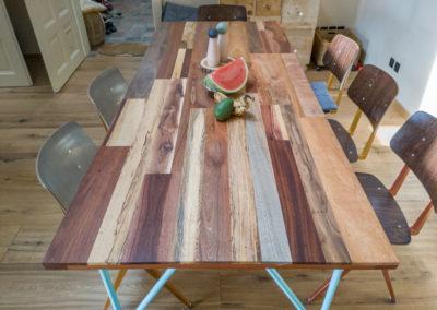 Paletky | recyklovaný nábytek z palet | Stůl Mix Exot Domáčková Lq 3 | nábytek na míru