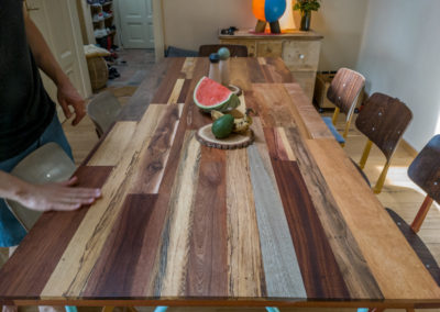 Paletky | recyklovaný nábytek z palet | Stůl Mix Exot Domáčková Lq 5 | nábytek na míru