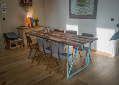 Paletky | recyklovaný nábytek z palet | Stůl Mix Exot Domáčková Lq 8 | nábytek na míru