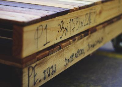 Paletky | recyklovaný nábytek z palet | Tkm4web | nábytek na míru