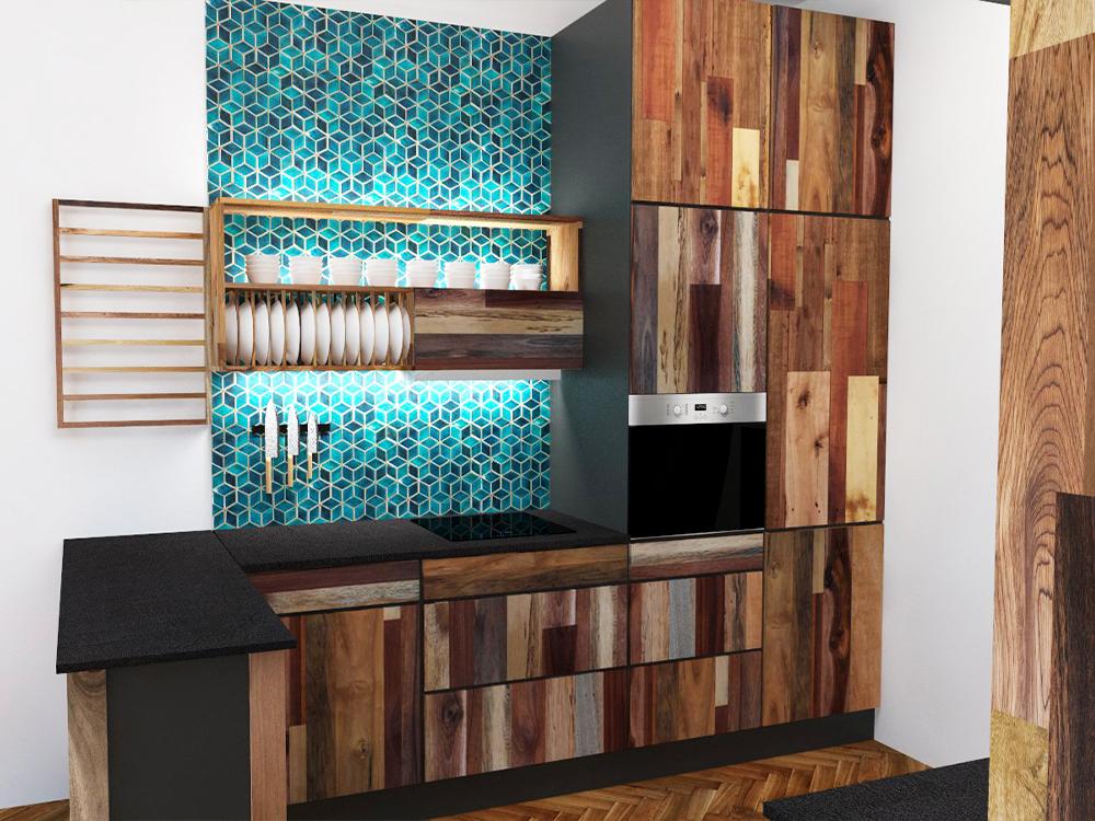 Paletky | recyklovaný nábytek z palet | Web Vizualizace Azulej 1 | nábytek na míru