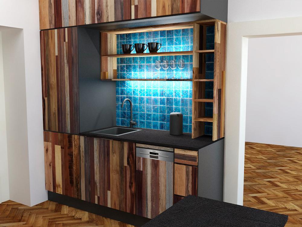 Paletky | recyklovaný nábytek z palet | Web Vizualizace Azulej 5 | nábytek na míru