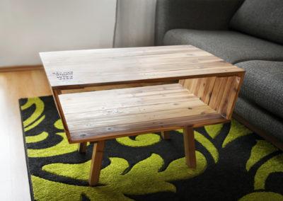 Paletky | recyklovaný nábytek z palet | Kohi Stolek Paletky | nábytek na míru