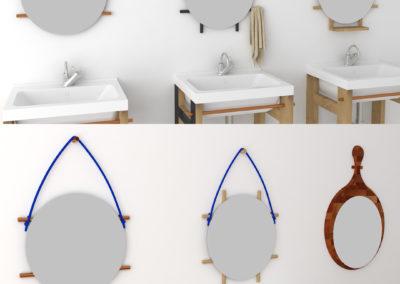 Paletky | recyklovaný nábytek z palet | Koupelnová Skříňka 2 Ig 4 | nábytek na míru