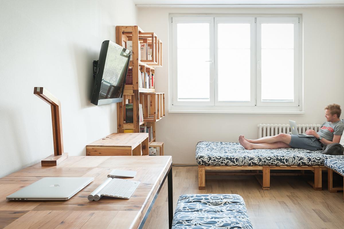 Paletky | recyklovaný nábytek z palet | Obávýk Toki Web 11 | nábytek na míru