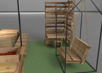 Paletky | recyklovaný nábytek z palet | Ovozela Web 1200 4 | nábytek na míru