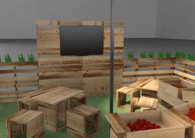 Paletky | recyklovaný nábytek z palet | Ovozela Web 1200 5 | nábytek na míru