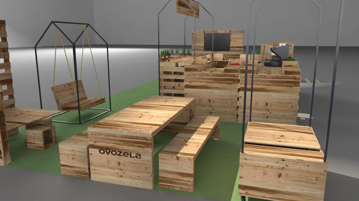 Paletky | recyklovaný nábytek z palet | Ovozela Web 1200 6 | nábytek na míru