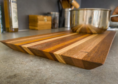 Paletky | recyklovaný nábytek z palet | Prkénka Mix Exot Pruhovane Lq 9 | nábytek na míru
