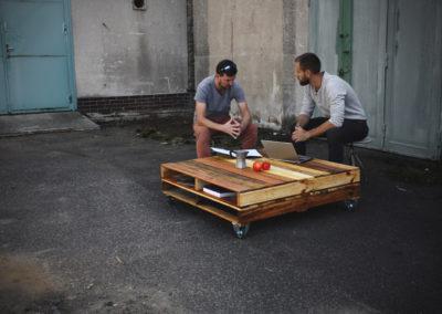 Paletky | recyklovaný nábytek z palet | Tkm1main | nábytek na míru