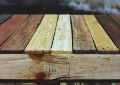 Paletky | recyklovaný nábytek z palet | Tkm2web | nábytek na míru