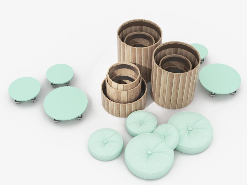 Paletky | recyklovaný nábytek z palet | Web Vizualizace 7.2 | nábytek na míru