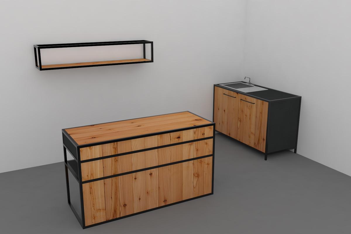 Paletky | recyklovaný nábytek z palet | Mobilní Kuchyň Web 1200 1 | nábytek na míru