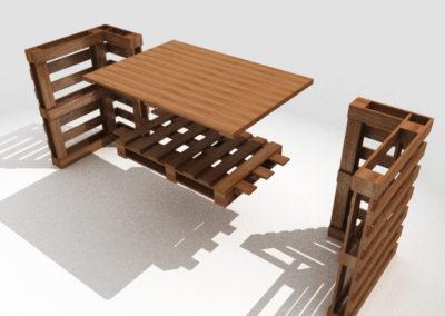 Paletky | recyklovaný nábytek z palet | Tenji Web 1200 2 | nábytek na míru
