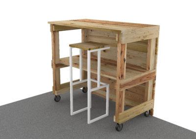 Paletky | recyklovaný nábytek z palet | Tenji Web 1200 7 | nábytek na míru