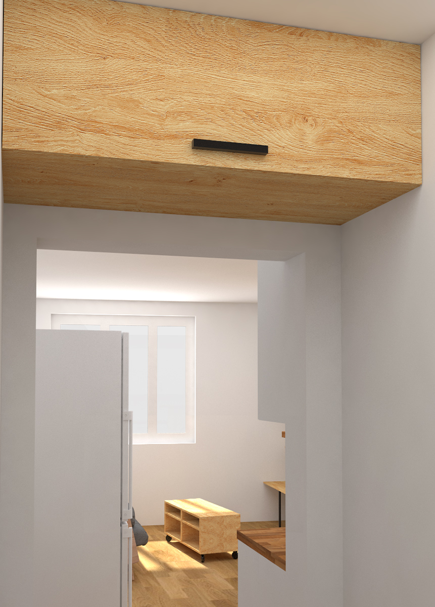 Paletky | recyklovaný nábytek z palet | Interiér 2017 Vizualizace 3.1 | nábytek na míru