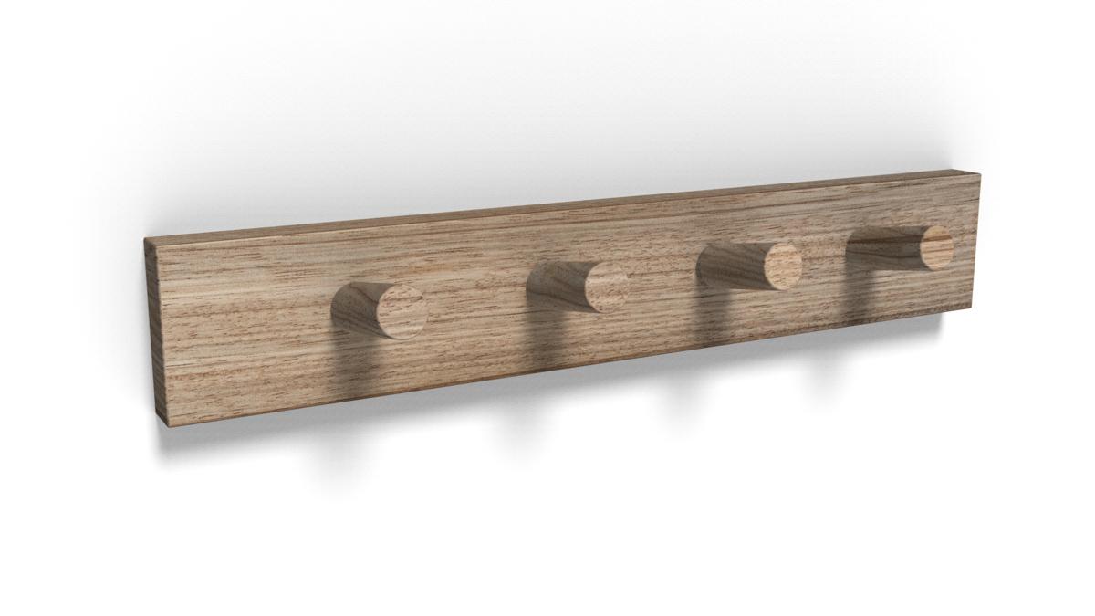 Paletky | recyklovaný nábytek z palet | Věšáčky Vizualizace 1 | nábytek na míru
