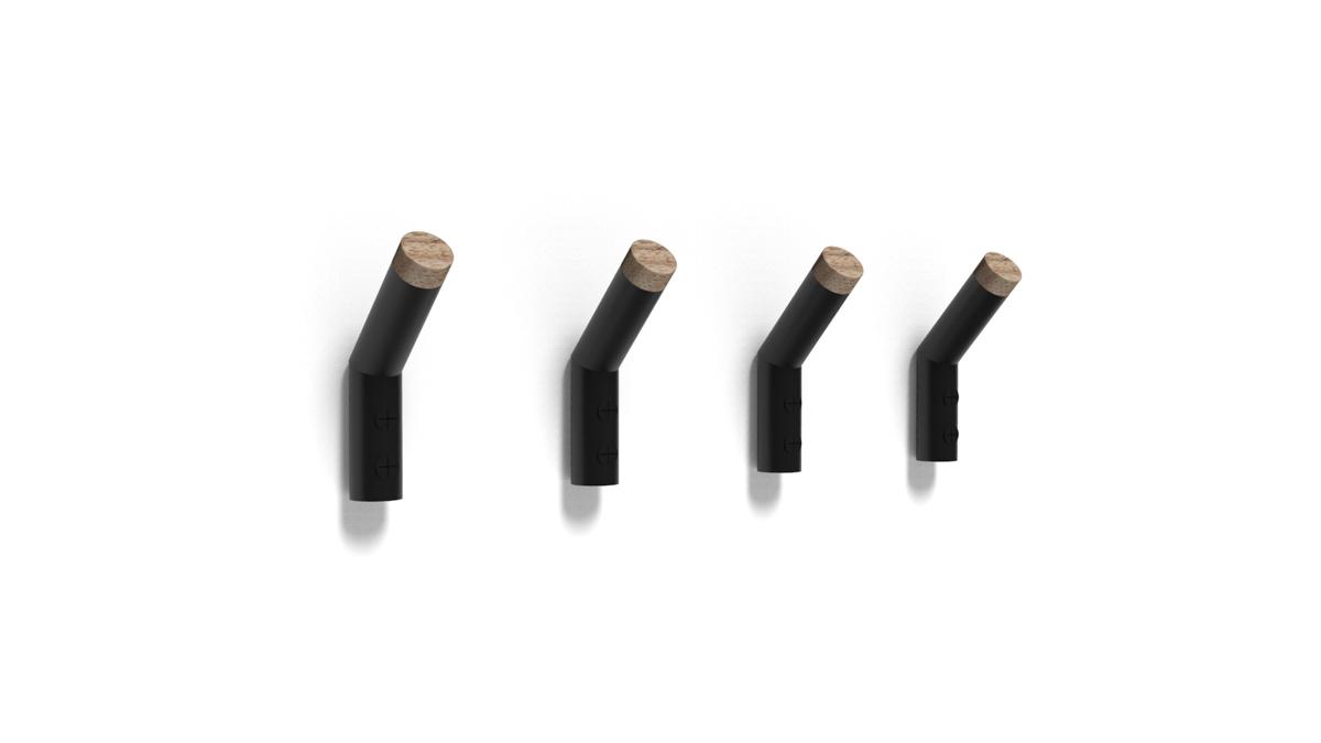 Paletky | recyklovaný nábytek z palet | Věšáčky Vizualizace 3 | nábytek na míru