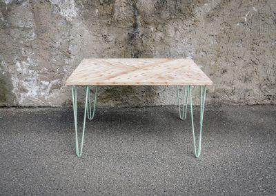 Stůl HRAVÝ MODŘÍN